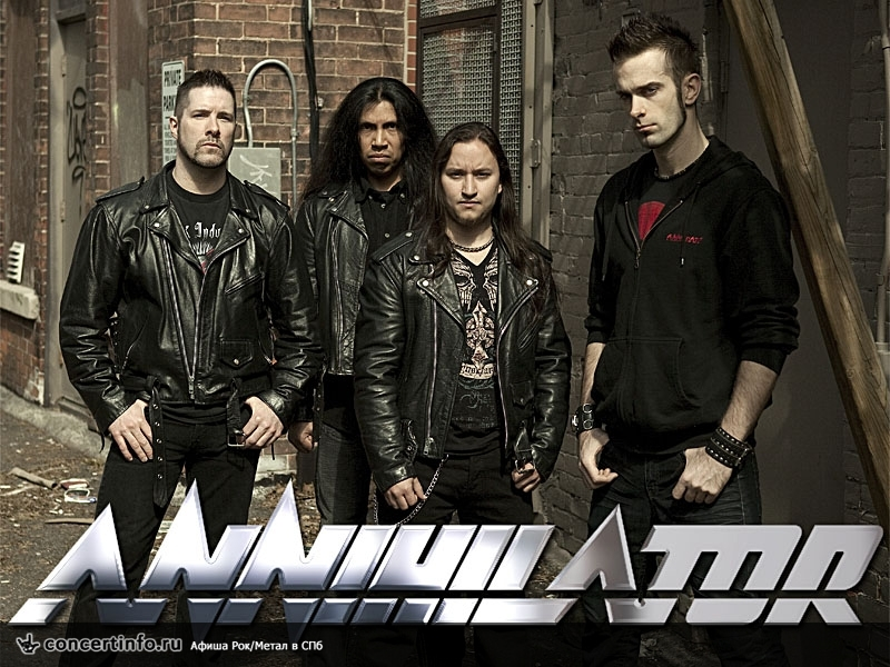 Концерт 27 ноября 2016, Annihilator (Can) (ClubZal, Санкт-Петербург)