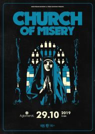 29 октября 2019, Church of Misery (Aglomerat)