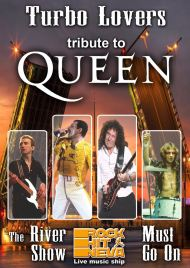 8 ноября 2019, THE QUEEN Tribute (Теплоход Rock Hit Neva)