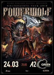 24 марта 2019, Powerwolf, A2 Green Concert
