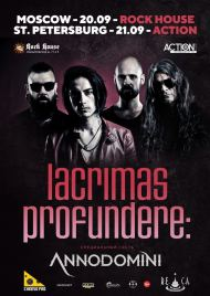 23 марта 2019, LACRIMAS PROFUNDERE, Action Club