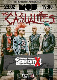 28 февраля 2019, The Casualties, MOD