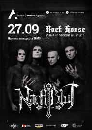 27 сентября 2019, Nachtblut (Rock House)