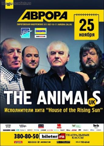 Концерт 25 ноября 2012, The Animals (Aurora Concert Hall, Санкт-Петербург)