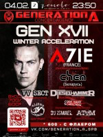 4 февраля, GENERATION A. GEN XVII. Winter Acceleration (ZOCCOLO 2.0)