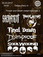 09.10.1922 - Debauchry in Thrash and Death metal madness