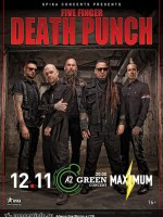 19.02.1922 - FIVE FINGER DEATH PUNCH