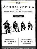 27 марта, APOCALYPTICA (ДК им. Ленсовета)