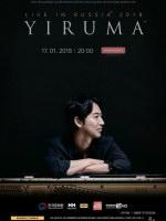 17 января, Концерт Yiruma (Большой Зал Филармонии)