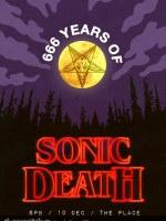 10 декабря, SONIC DEATH 066 YEARS (Place)